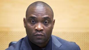 Germain Katanga, ancien milicien congolais.
