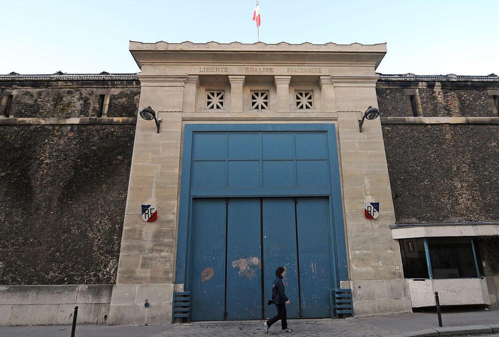 Парижская тюрьма Санте была построена в 1867 году