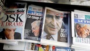 法国舆论密集报道卡恩案