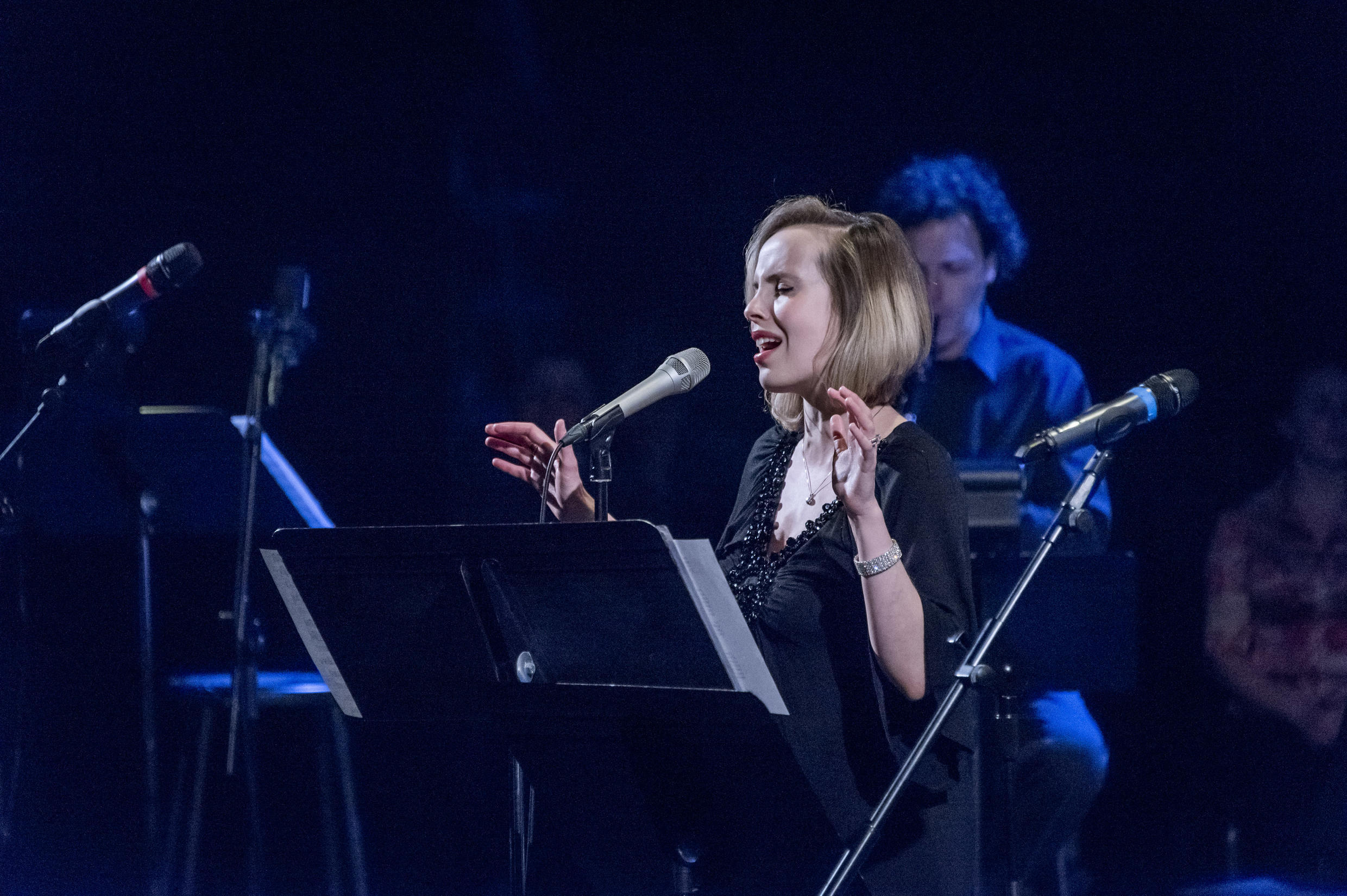 Sophie Milman, Canadian jazz singer born to a Russian Jewish family, performs Yiddish songs from the album