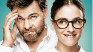 Clovis Cornillac et Mélanie Bernier pour le film «Un peu, beaucoup, aveuglément».