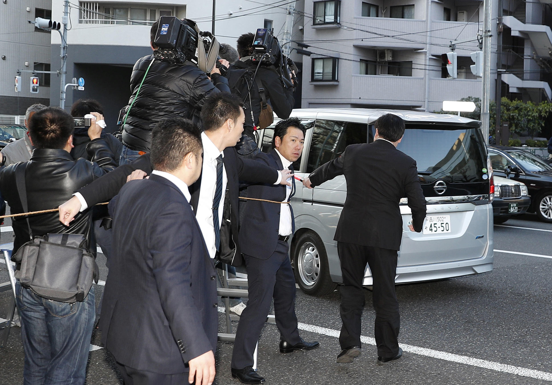 Новое задержание Карлоса Гона в Токио 4 апреля 2019.