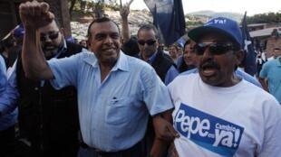 Porfirio Pepe Lobo a été élu président du Honduras, le 29 novembre 2009.