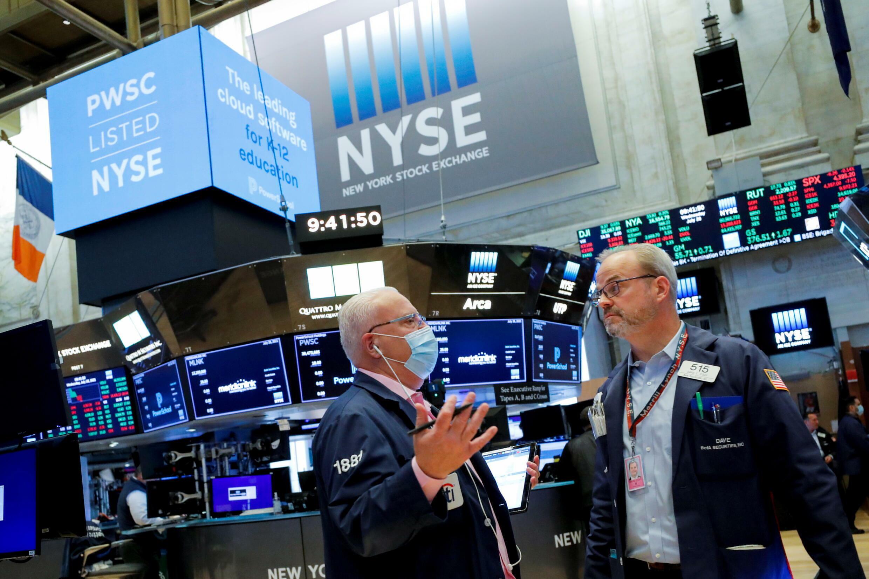 美國紐約證券交易所資料圖片