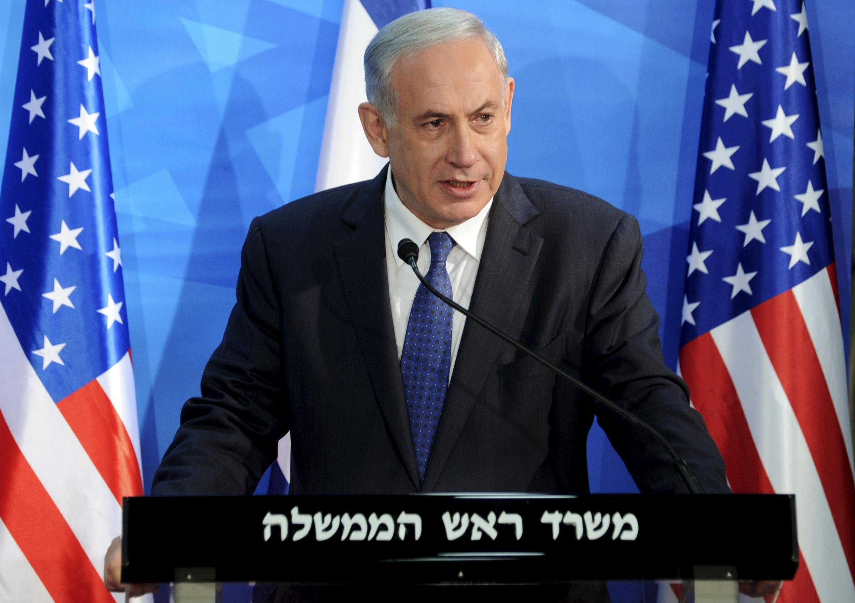 Премьер-министр Израиля Беньямин Нетаньяху, Иерусалим, 1 апреля 2015 г.