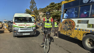 A growing number of people in Nairobi have switched to cycling during the pandemic despite a lack of bike paths