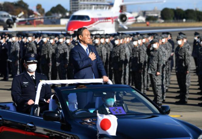 日本首相菅義偉資料圖片