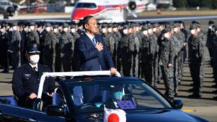 日本首相菅义伟资料图片