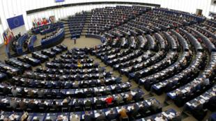 Nghị Viện Châu Âu trong phiên bỏ phiếu ngày hôm qua, 13/02/2019, tại Strasbourg, Pháp