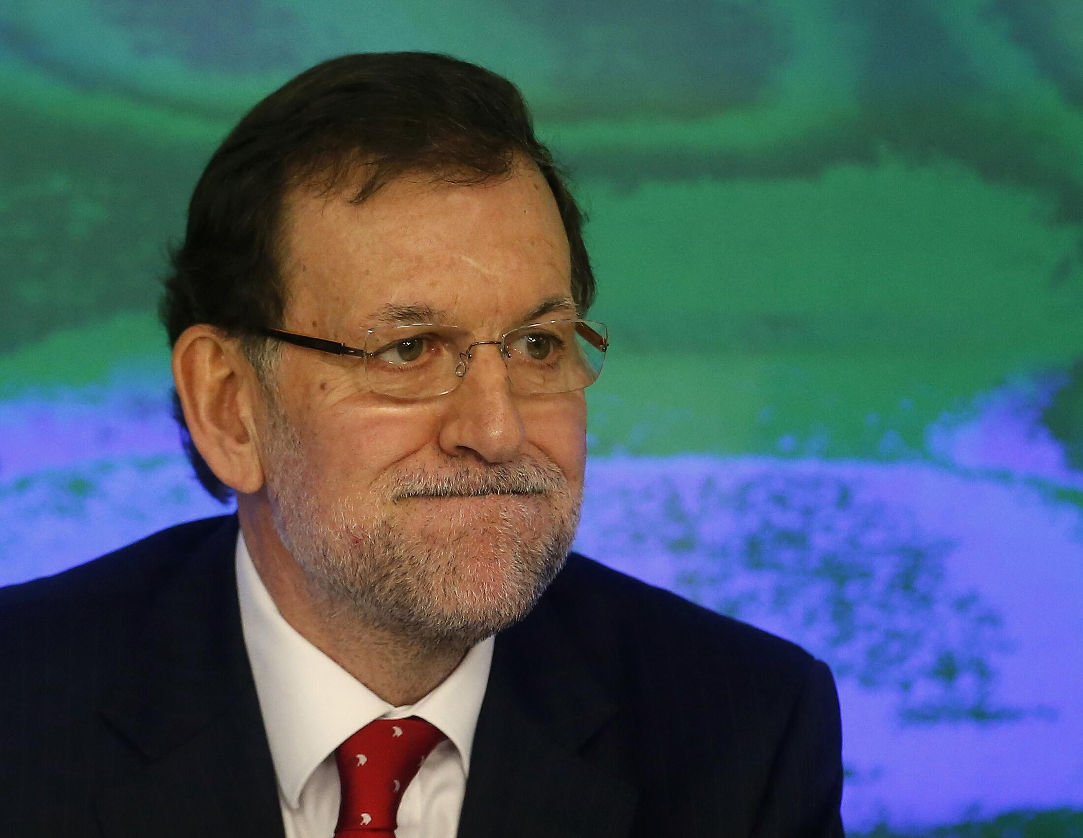 El Partido Popular del primer ministro Mariano Rajoy se encuentra en una posición muy delicada.