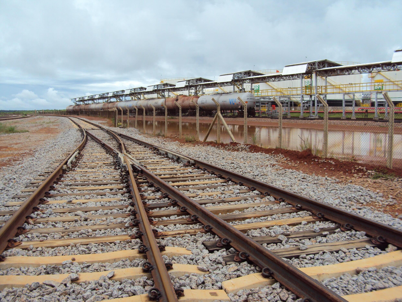 Ferrovia Norte-Sul – subtrecho Palmas/TO – Anápolis/GO – nas proximidades do Porto Nacional.