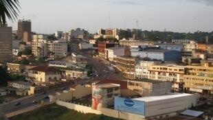 Katikati mwa jiji la Yaounde, mji mkuu wa Cameroon.