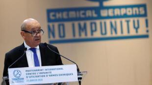 Глава МИД Франции Жан-Ив Ле Дриан считает, что для решения сирийского конфликта нет альтернативы женевскому процессу под эгидой ООН