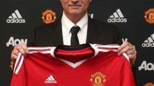 José Mourinho, treinador português do Manchester United.