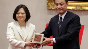 Tổng thống Đài Loan Thái Anh Văn (Tsai Ing-wen), Đài Bắc, 20/05/2016.