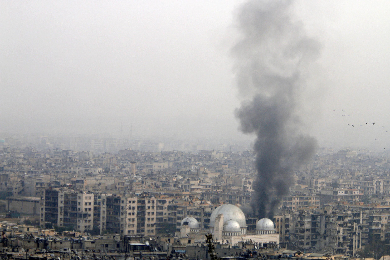 Alep, Syrie, le 5 décembre 2016.