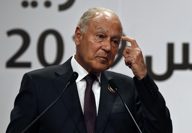 Shugaban kungiyar hadin kan kasashen Larabawa ta Arab League Ahmed Gheit