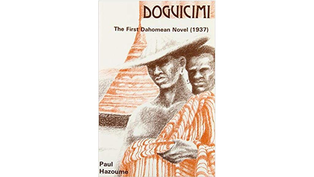 """Couverture """"Doguicimi"""", The first Dahomean Novel (1937), de Paul Hazoumé."""