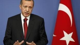 Fira Ministan Turkiya  Recep Tayyip Erdogan
