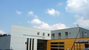 Une annexe du tribunal de grande instance de Bobigny à Roissy.