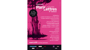 Affiche «Festival en toutes lettres».
