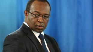 Anicet-Georges Dologuélé, président du parti d'opposition Union pour le renouveau centrafricain (URCA).
