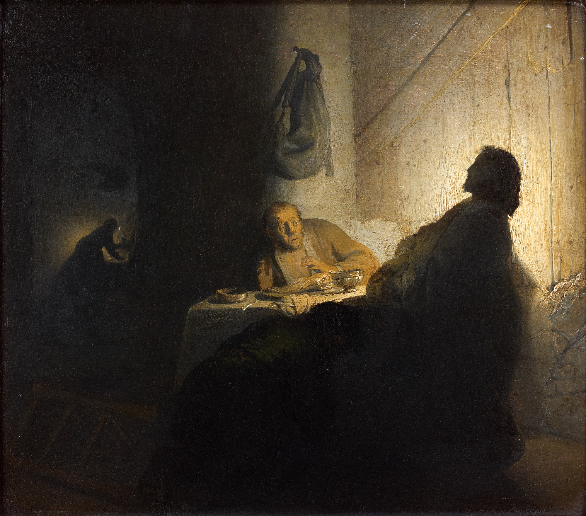 Rembrandt -The Pilgrims at Emmaus'® Paris, Musée Jacquemart-André - Institut de France - Studio Sébert Photographes