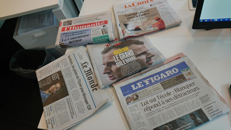 Diários franceses 15.04.2019