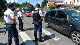 Накануне открытия саммита G7 на юго-западе Франции произошли столкновения между полицией и антиглобалистами