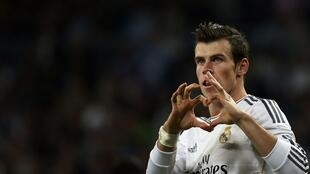Gareth Bale, na Real Madrid