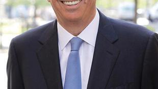 Patrick Balkany, maire UMP de Levallois-Perret, dans les Hauts-de-Seine.