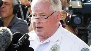 Thomas Jackson, le désormais ex-chef de la police de Ferguson, après la mort de Michael Brown, le 15 août 2014.