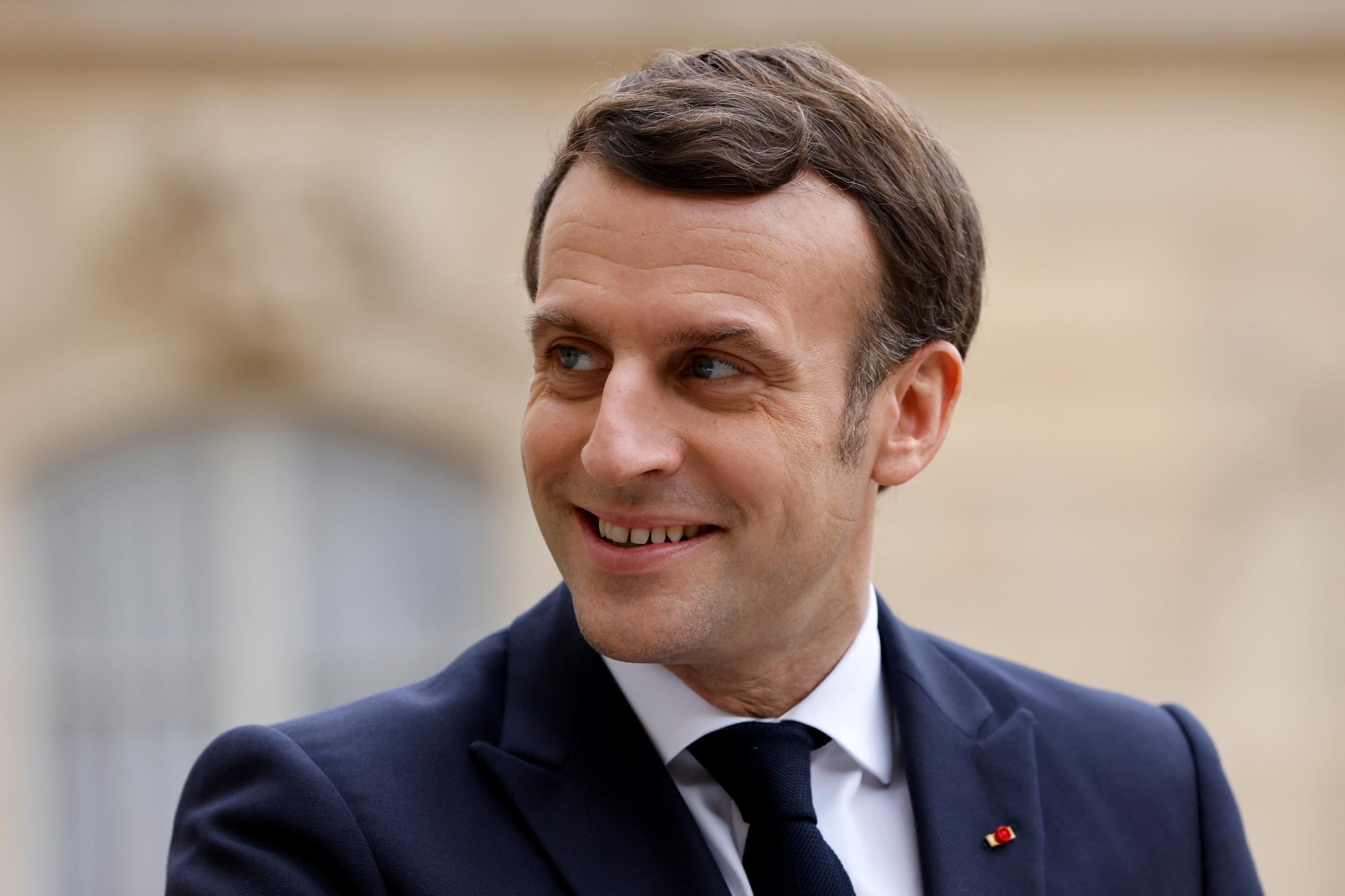 French President Emmanuel Macron supports new negotiations that would also place limits on Iran's ballistic missile programme