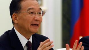 Le Premier ministre chinois Wen Jiabao, le 28 octobre 2008.