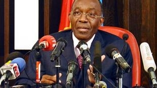 Le ministre congolais des Affaires étrangères, Raymond Tshibanda, le 19 juillet 2012.