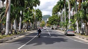 Une vue de Port Louis, capitale de l'Ile Maurice.