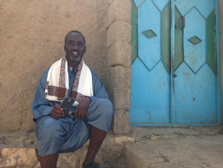 Muhumed Mohamed Elmi, livestock exporter at Borama market