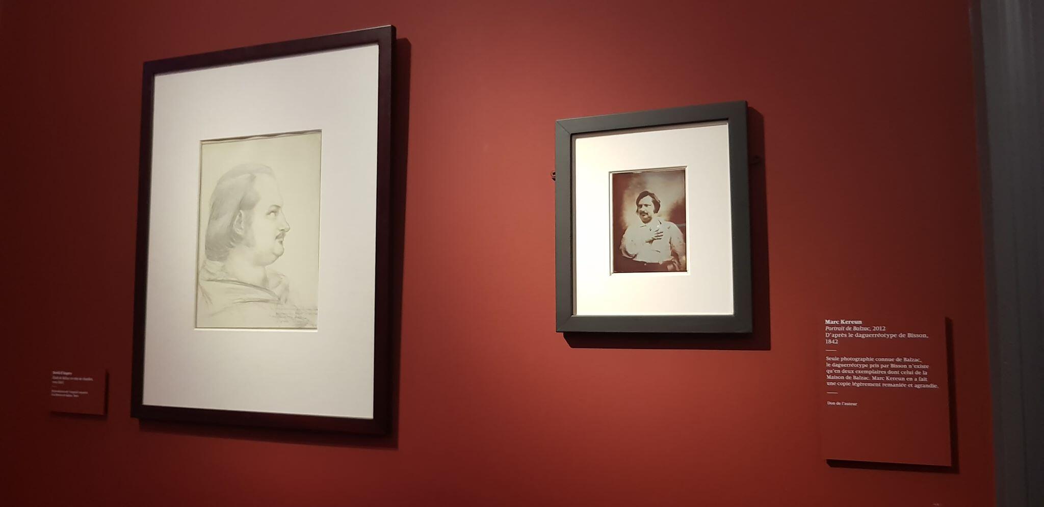 Дагеротипное изображение Оноре де Бальзака