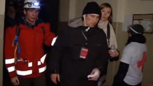 Оператор Euronews после оказания ему первой помощи