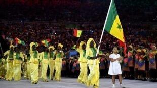 Tawagar Senegal a wasannin guje-guje da tsalle-tsallen da ke ci gaba da gudana can a Morocco.