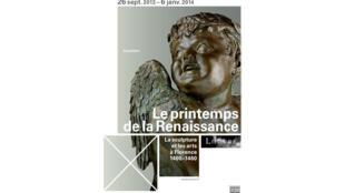 L'affiche de l'exposition <i>Le printemps de la Renaissance. </i>La sculpture et les arts à Florence, 1400-1460 (du 26&nbsp;Septembre 2013 au 6&nbsp;Janvier 2014)