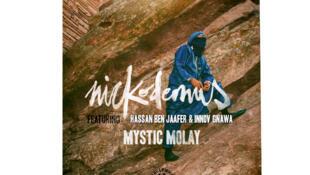 "Pochette de l'album de Nickodemus ""Mystic Molay""."