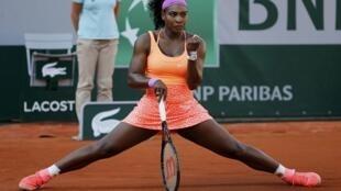 Серена Уильямс, Париж 4 июня 2015 года, French Open