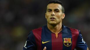 Dan wasan Barcelona Pedro Rodriguez