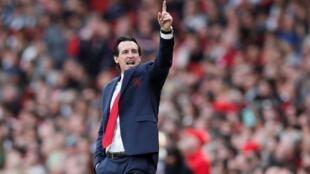 Kocin Arsenal, Unai Emery
