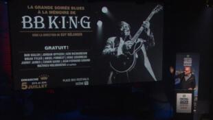 Hommage à B.B. King.