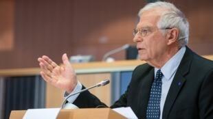 លោក Josep Borrell តំណាងជាន់ខ្ពស់របស់សហភាពអឺរ៉ុបទទួលបន្ទុកផ្នែកគោលនយោបាយសន្តិសុខ និងកិច្ចការបរទេស
