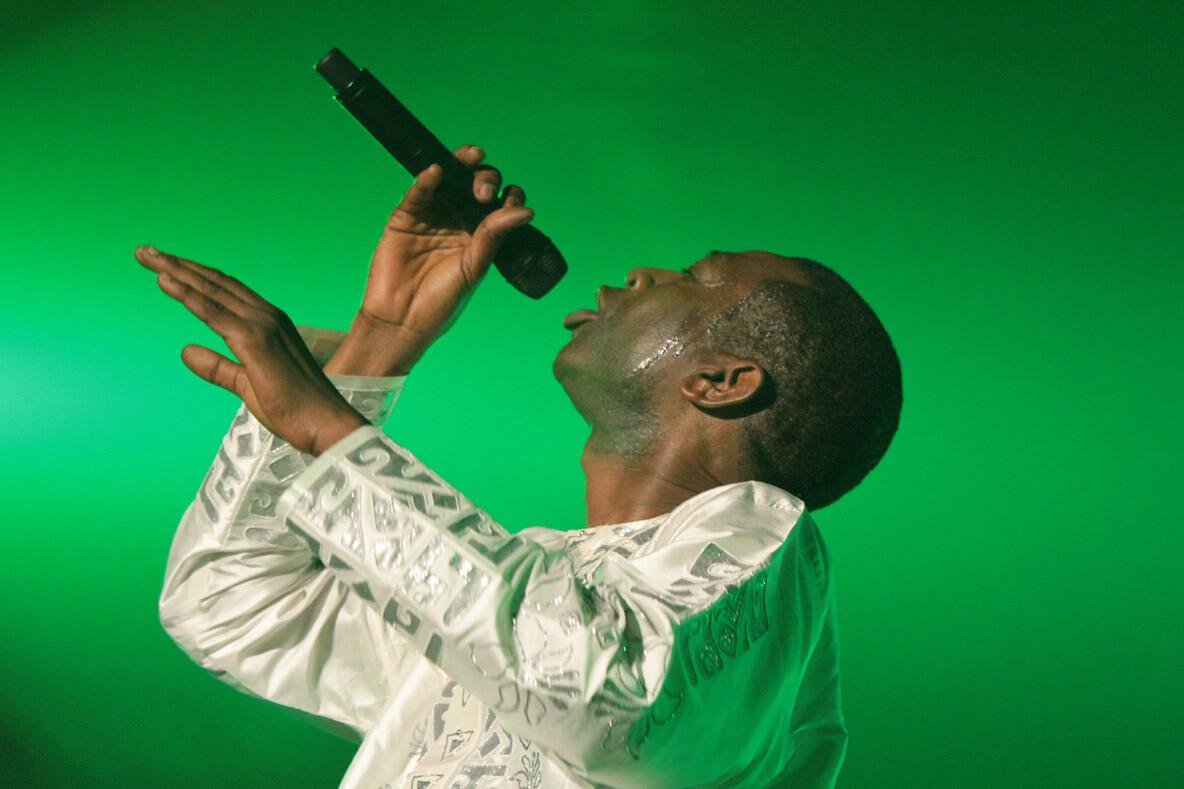 Le musicien Youssou N'Dour.