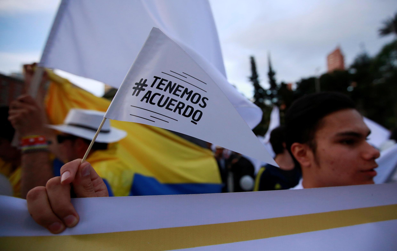 Marcha por la paz en Bogota, 15 de noviembre.