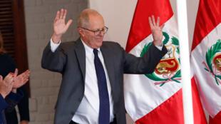 Sabon Shugaban Peru Pedro Pablo Kuczynski
